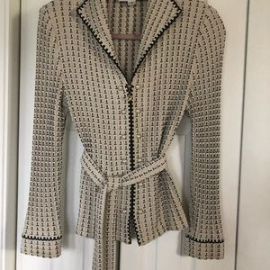 Gorgeous St John by Marie Gray knit jacket.
